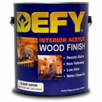 DEFY Interior Clear Wood Finish Satin gal - 1 gallon each