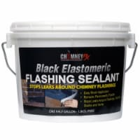 ChimneyRx Black Elastomeric Flashing Sealant 1/2-gal - 1/2 gallon each