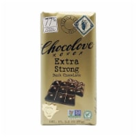 Chocolove - Extra Strong Dark Chocolate Bar - 3.2 oz (Pack of 1)