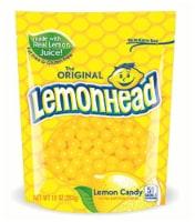 Lemonhead Candy, Lemon, 10 Ounce Bag (Pack of 1)