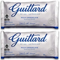Guittard Choc Chip Mlk Choc Maxi - 11.5 Ounce (Pack of 2) - 2 Pack/11.5 Ounce