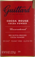 Guittard Chocolate Cocoa Rouge Cocoa Powder Unsweetened, 8 oz (Pack of 1) - 1 Pack/8 Ounce