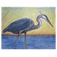 Betsy Drake PM027 Great Blue Heron Place Mat - Set of 4
