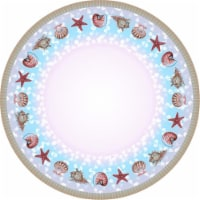 Betsy Drake TR094G 68 in. Shells Round Table Cloth