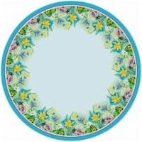 Betsy Drake TR194G 68 in. Florals Round Table Cloth - 1