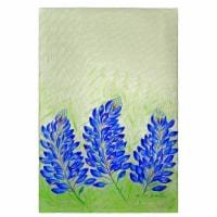 Betsy Drake GT192 Blue Bonnets Guest Towel
