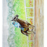 Betsy Drake PM341 Home Stretch Place Mat, 14 x 18 in. - Set of 4