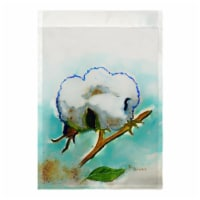 Betsy Drake FL998 Cotton Ball Flag - 12.5 x 18 in. - 1