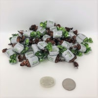 Arcor Mint Chocolate Bon Bons 1 pound bulk bonbon chocolate mint hard candy - 1 pound
