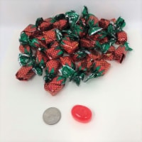Arcor Filled Strawberry Bon Bons 2 pounds bulk bonbon hard candy wrapped - 2 pounds
