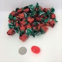 Arcor Filled Strawberry Bon Bons  6 pounds bulk bonbon hard candy wrapped - 6 pounds