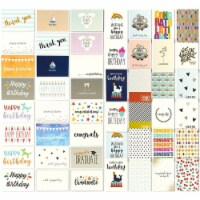 48 Assorted Greeting Cards Birthday, Thank You, Wedding, Blank Inside w/Envelope - PACK