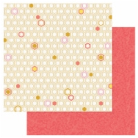 Wild Honey Double-Sided Cardstock 12 X12 -Honeycomb - 1