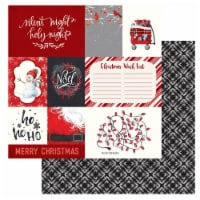 """Christmas Cheer Double-Sided Cardstock 12""""X12""""-Deck The Halls - 1"""