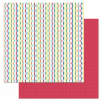 Norbert's Birthday Double-Sided Cardstock 12 X12 -Streamers - 1