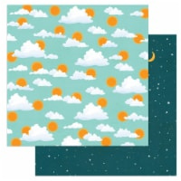 Cabin Fever Double-Sided Cardstock 12 X12 -Morning Till Night - 1