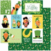 """Tulla & Norbert's Lucky Charm Double-Sided Cardstock 12""""X12""""-Luck Of The Irish - 1"""