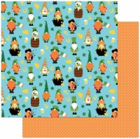"""Tulla & Norbert's Lucky Charm Double-Sided Cardstock 12""""X12""""-Kiss Me - 1"""