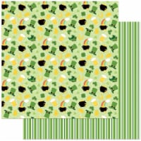 Tulla & Norbert's Lucky Charm Double-Sided Cardstock 12 X12 -Lucky Charm - 1