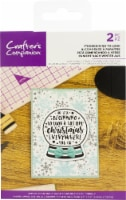 Crafter's Companion Clear Acrylic Quirky Stamp-It's Beginning To Look - 1