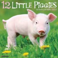 12 Little Piggies 2022 Wall Calendar - 1