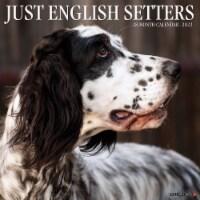 Just English Setters 2022 Wall Calendar (Dog Breed) - 1