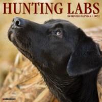 Hunting Labs 2022 Wall Calendar, (Labrador Retriever Dogs, Dog Breed) - 1