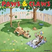 Gary Patterson's Paws n Claws 2022 Wall Calendar - 1