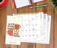 Coffee 2022-23 2-year Pocket Planner - 1