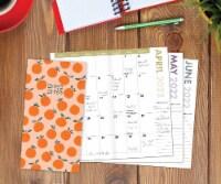Orange Harvest 2022-23 2-year Pocket Planner - 1
