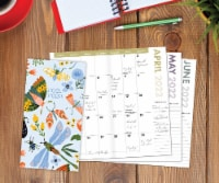 Butterflies and Floral 2022-23 2-year Pocket Planner - 1
