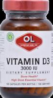 Olympian Labs Vitamin D3 Capsules 3000 IU 100 Count