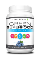 Lean & Pure Green Superfood Blueberry Dietary Supplement
