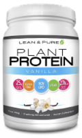 Lean & Pure Vanilla Plant Protein Dietary Supplement - 17.4 oz