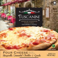 Tuscanini Wood Fired Four Cheese Gourmet Pizza - 14.1 oz