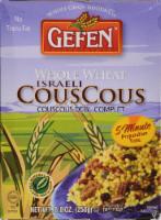 Gefen Whole Wheat Israeli Couscous