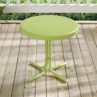 Furniture Retro Sturdy Steel Patio End Table in Paroot Green-Crosley - 1