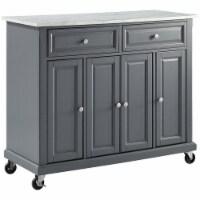 Avery Kitchen Cart Gray