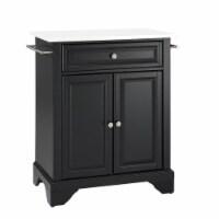 Lafayette Granite Top Portable Kitchen Island/Cart
