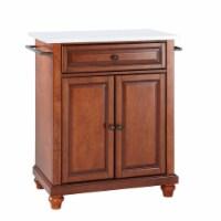 Cambridge Granite Top Portable Kitchen Island/Cart
