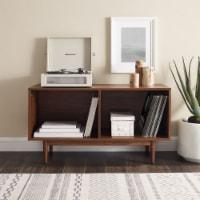 Crosley Liam Medium Record Storage Console Cabinet - Walnut - 1 ct