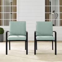 Kaplan 2Pc Outdoor Dining Chair Set