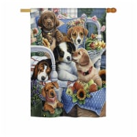 Breeze Decor BD-PT-H-110050-IP-BO-DS02-US Country Pups Nature - Everyday Pets Impressions Dec - 1