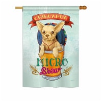 Breeze Decor BD-PT-H-110098-IP-BO-DS02-US Chihuahua Micro Brew Nature - Everyday Pets Impress - 1