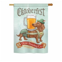 Breeze Decor BD-PT-H-110099-IP-BO-DS02-US Doxie Brewing Co. Nature - Everyday Pets Impression - 1