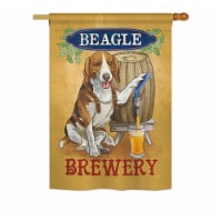 Breeze Decor BD-PT-H-110101-IP-BO-DS02-US Beagle Brewery Nature - Everyday Pets Impressions D - 1
