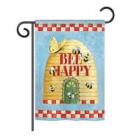 Breeze Decor BD-BG-G-104089-IP-BO-DS02-US Bee Happy Hive Garden Friends - Everyday Bugs & Fro - 1