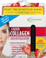 Applied Nutrition Liquid Collagen Skin Revitalization Dietary Supplement Liquid-Tubes