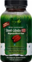 Irwin Naturals Steel-Libido Red magnum Blood-Flow Dietary Supplement Liquid Soft-Gels 75 Count