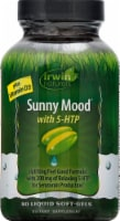 Irwin Naturals Sunny Mood 5-HTP Dietary Supplement Liquid Soft-Gels